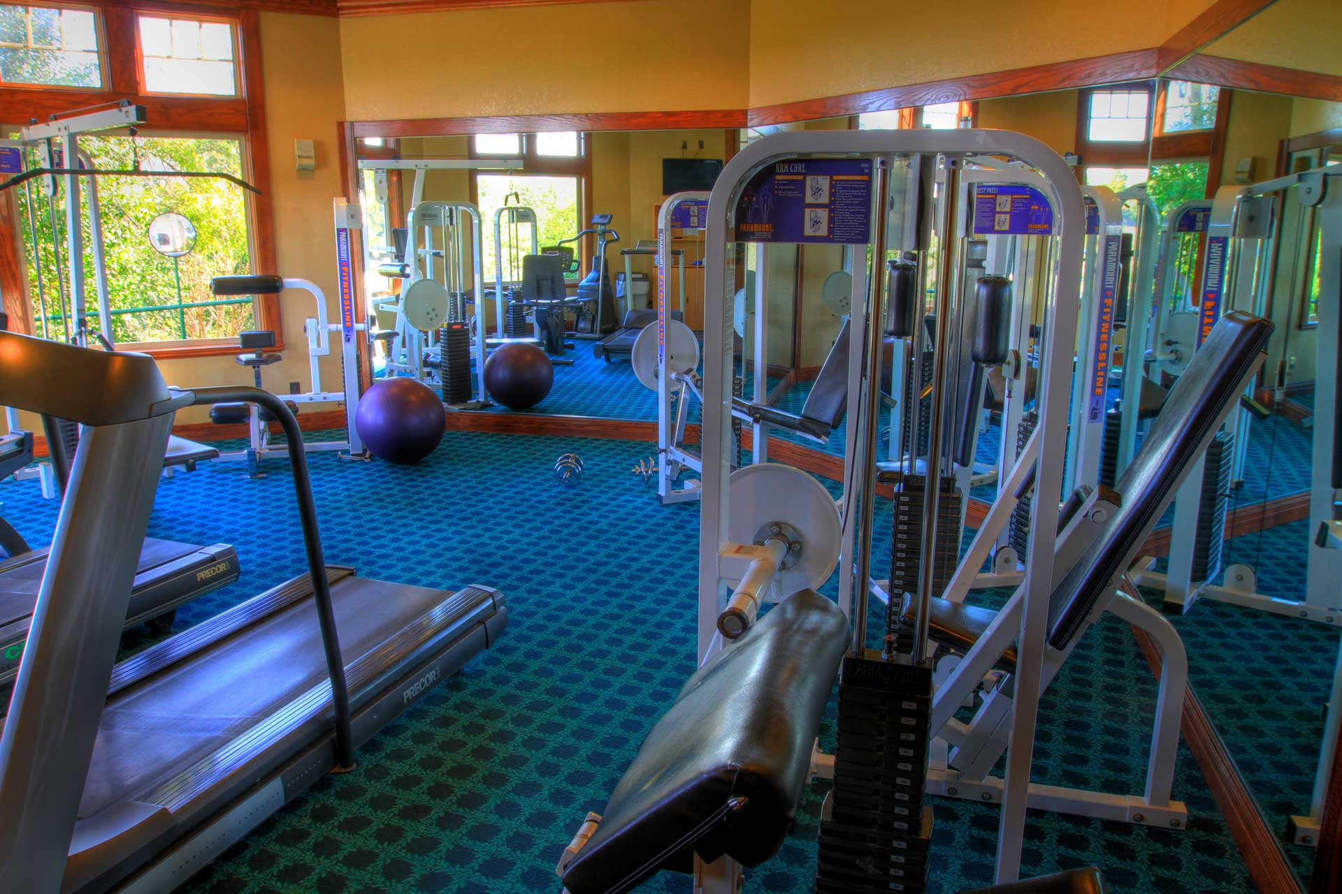 Private fitness facility victoria club riverside ca